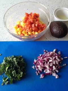 Cortar frutas