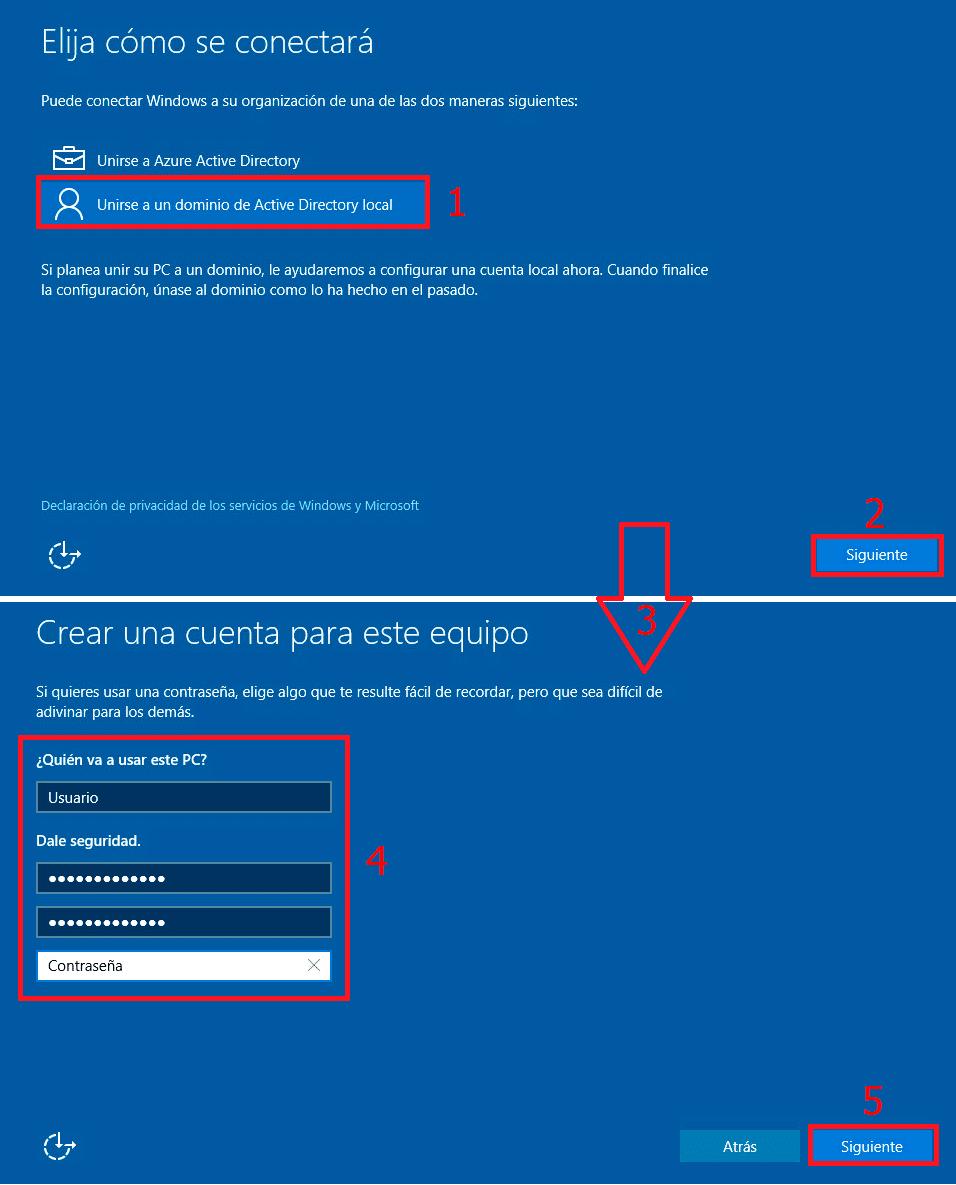 Pantallazos es: Windows 10: Cambiar SID con SYSPREP