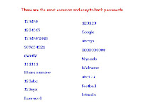 Do Not Use These Password for Online (Be Safe),easy password,how to make strongest password,bad password list of 2016,worst password 2017 list,all time bad password,dont use this password,hacked password,make hard password,google password,123456,list of common bad password,how to make password for online,onilne bad password,worst onilne password,account password,pin online,user account password,very hard Most worst and common password list.  Click here for more detail..