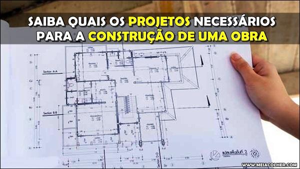 projeto para construção