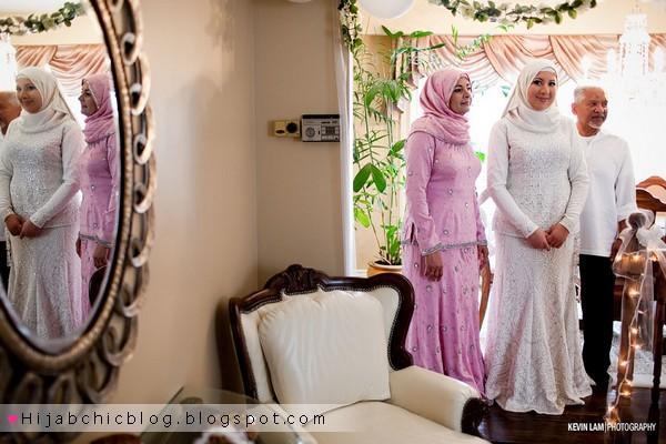 d309b3dd8d0dc Real Weddings  hijabi bride camille فساتين افراح اسلاميه متنوعه اخر موضه  فرح اسلامى