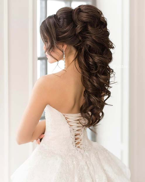 Top 20 Long Wedding Hairstyles And Updos For 2018: 14 Best Wedding Hairstyles Ideas For Long And Short Hair