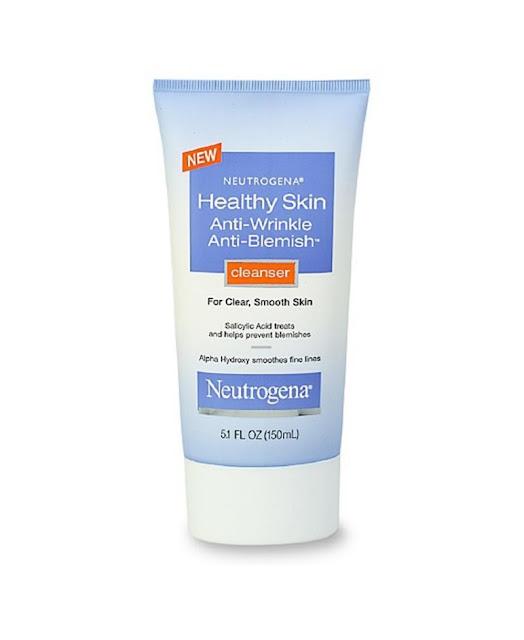 6. Sữa rửa mặt Neutrogena Healthy Skin Anti-Wrinkle