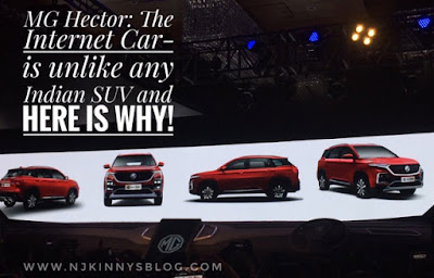 #MGHector: The Internet Car - is unlike any Indian SUV and here is why!