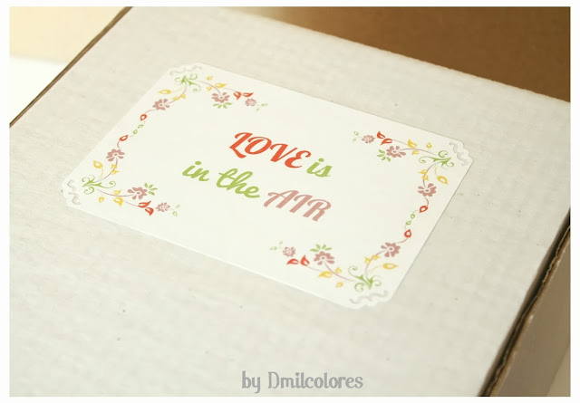 Packaging personalizado boda