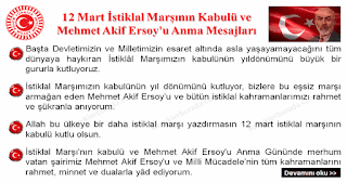 12 Mart İstiklal Marşının Kabulü ve Mehmet Akif Ersoy'u Anma Mesajları - Hazır Mesajlar - Komikler Burada