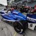 Falla mecánica deja fuera de combate a Menchaca en Monza