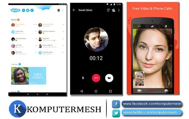 Aplikasi Video Call Android Paling Ringan Tanpa Kamera Depan