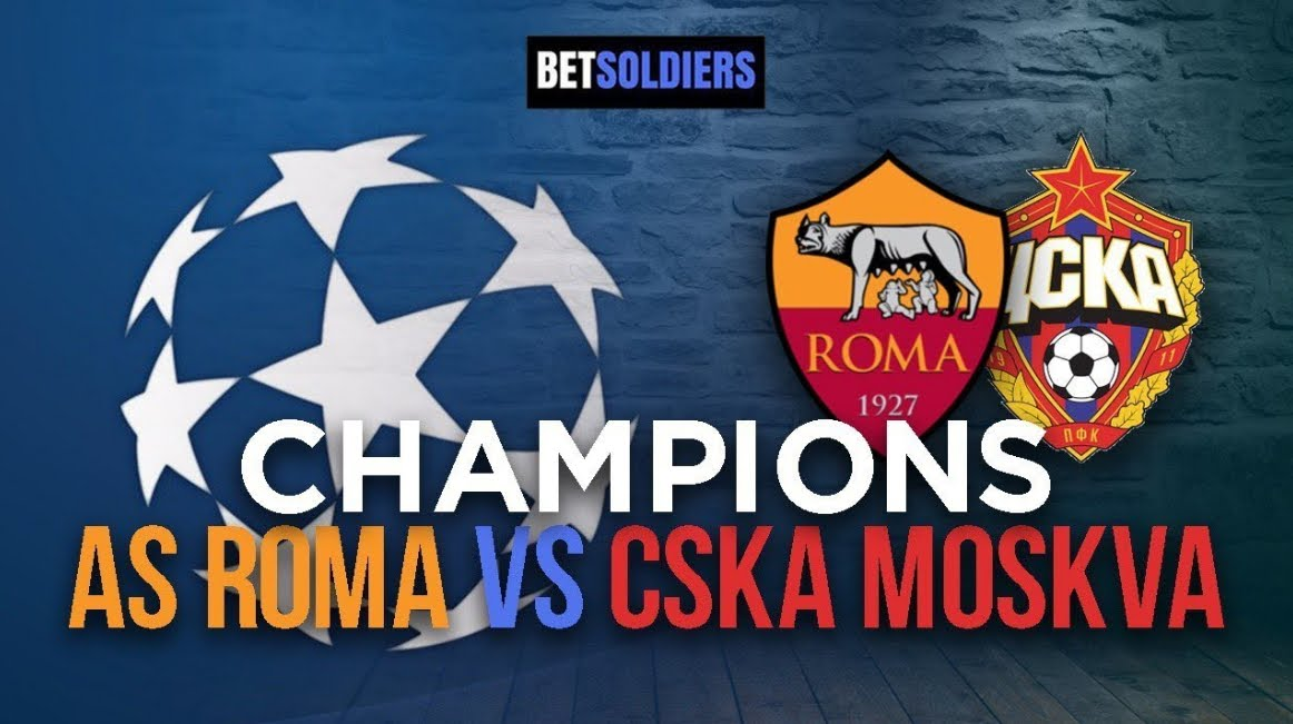 Dove Vedere ROMA-CSKA Mosca Streaming: Video Diretta Online in chiaro?