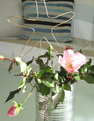 decorative wire for vases and pots