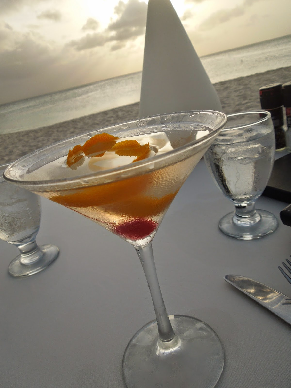 Passions on the Beach martini