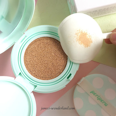Peripera Inklasting Mint Cushion Review