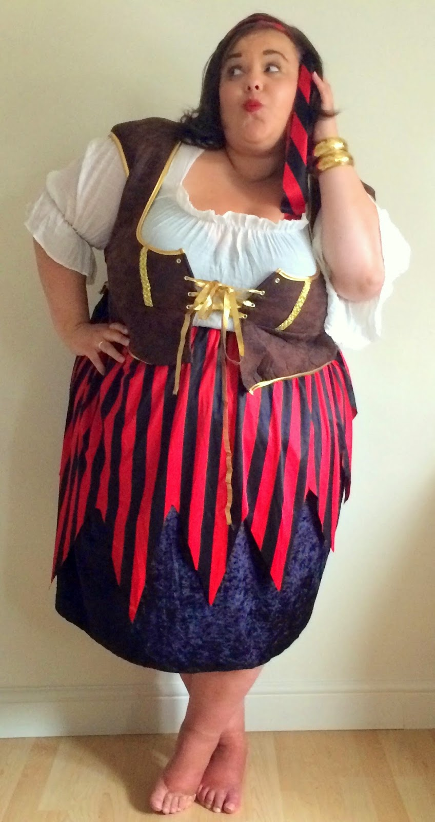 Ahoy There Fancy Fatties Plus Size Fancy Dress Diamonds Pearls