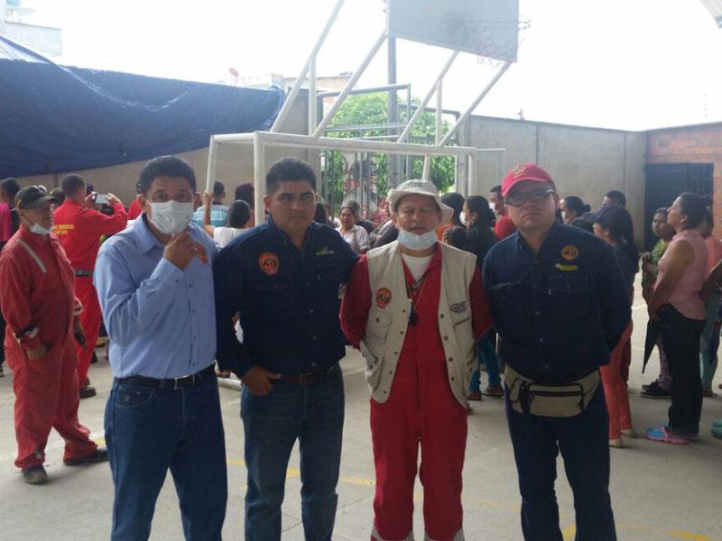 USO Orito entrega su esfuerzo para ayudar a Mocoa