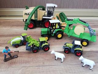 Kombajn mini farma na blogu atrakcyjne wakacje z dzieckiem