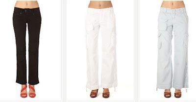 Pantalones para chica