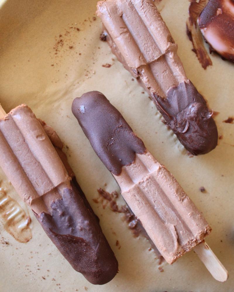 Paletas Heladas De Chocolate Abuelita Delirios De Cocina