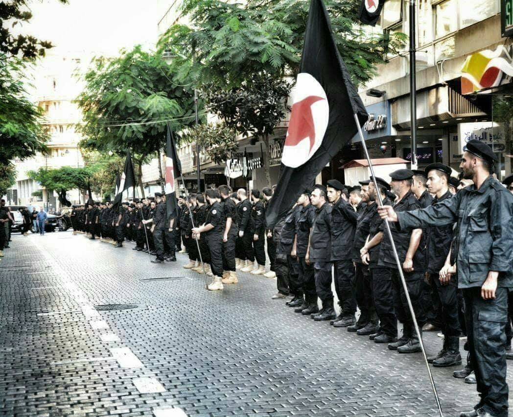 Image result for ssnp lebanon