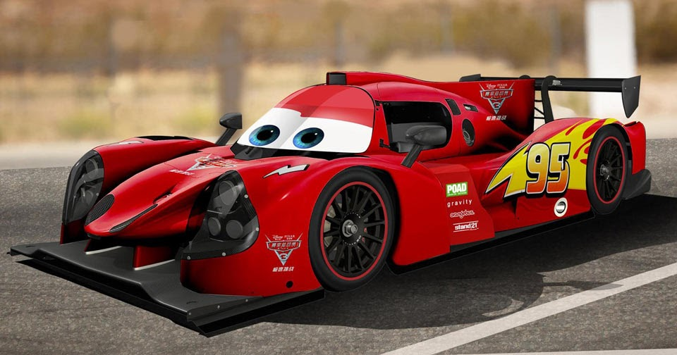 disney 39 s 39 cars 39 come to life as lmp3 prototypes for china race. Black Bedroom Furniture Sets. Home Design Ideas