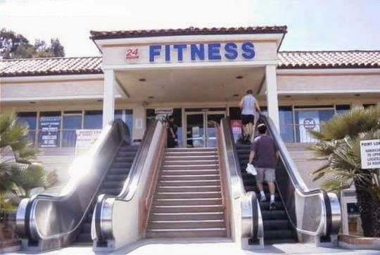 Funny Fitness Sign Fail Joke Picture