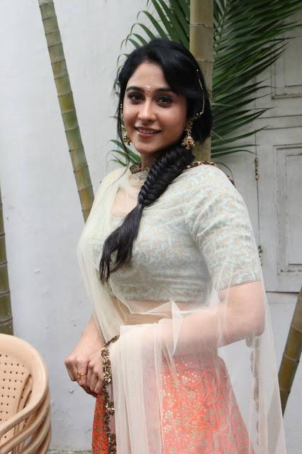 Regina Cassandra Stills At Mr Chandramouli Movie Pooja