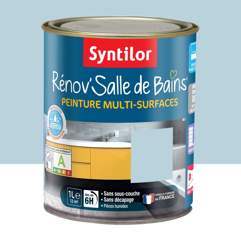 Peinture Salle De Bain: Comment J'ai Rénové Ma Cuisine Avec Syntilor Et Smart