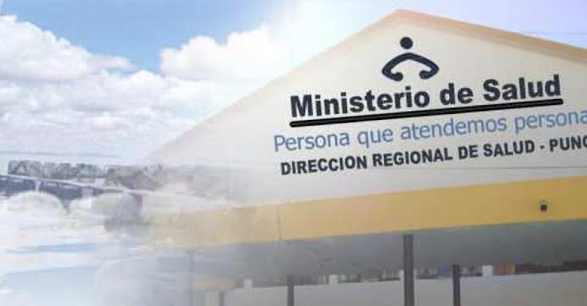 Examen para contrato de personal CAS DIRESA-PUNO fue postergado - www.diresapuno.gob.pe