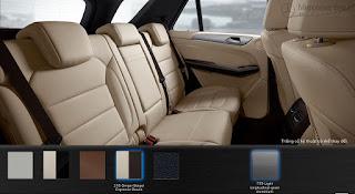 Nội thất Mercedes GLE 400 4MATIC Coupe 2019 màu Vàng Ginger/Nâu Espresso 215