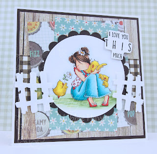 Heather's Hobbie Haven - Heidi Needs a Hug Card Kit