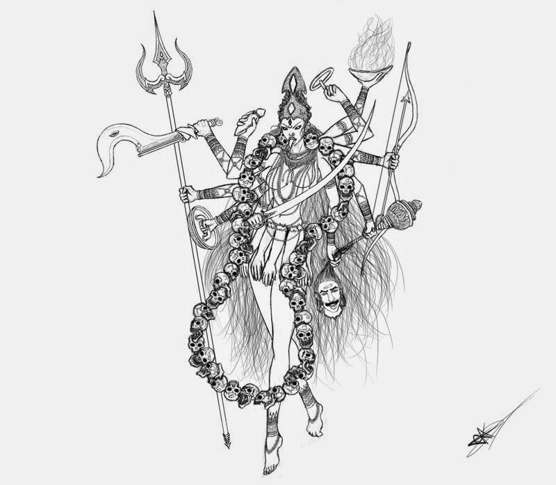 HiNDU GOD: Kali: The Dark Mother