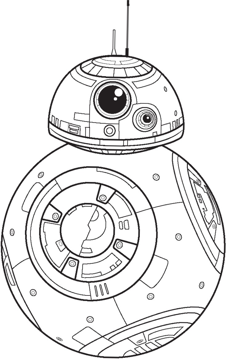 Polkadots on Parade: Star Wars: The Force Awakens Coloring