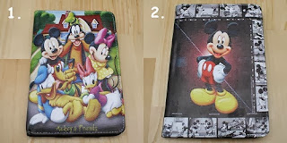 jual leather case micky mouse