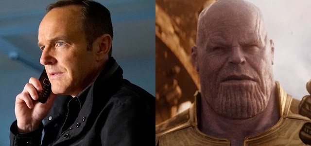 'Agents Of S.H.I.E.L.D.' quase fez referência ao estalo de Thano em 'Vingadores: Guerra Infinita'