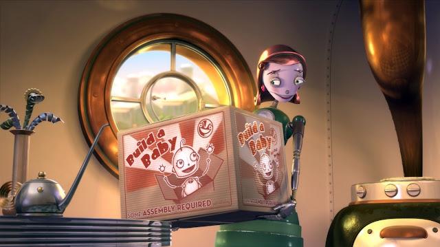 Render en 3D de la película Robots del personaje Cappy
