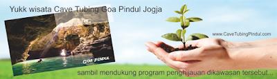 penghijauan di Goa Pindul