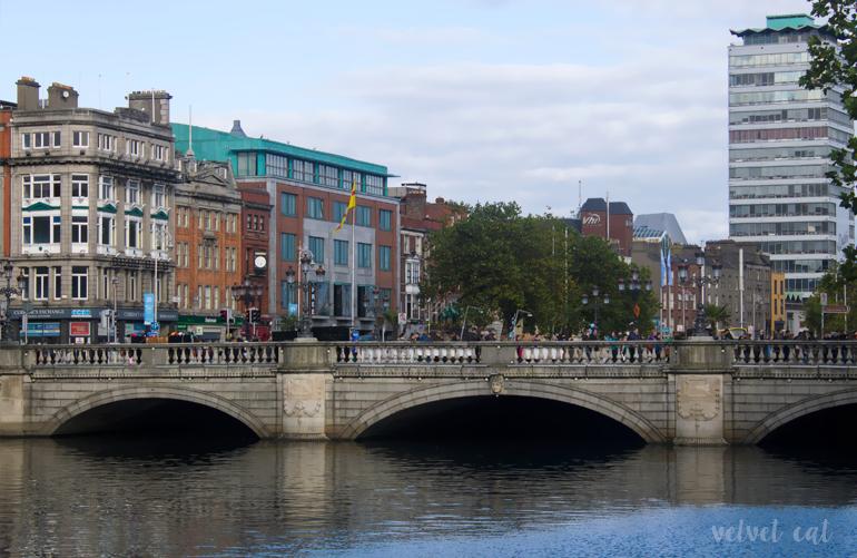 Proyecto A Z Río Liffey Dublín