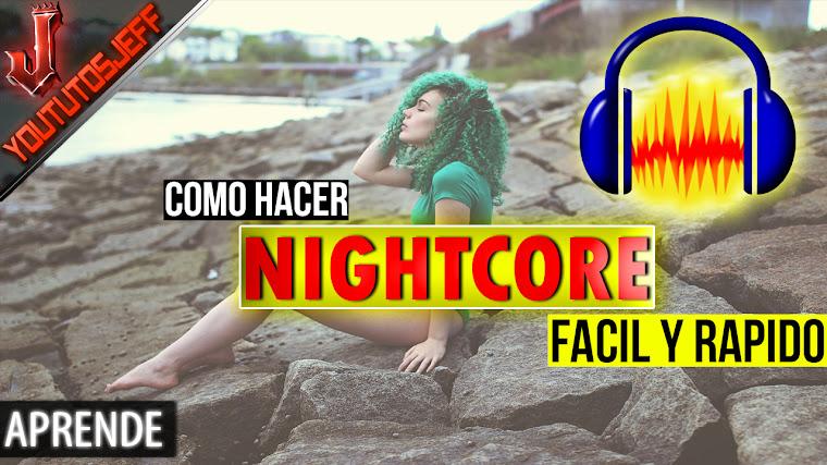 Como hacer NightCore con Audacity | Facil y Rapido