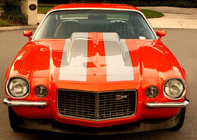 1973 Chevrolet Camaro Z28 2-Door Coupe Front