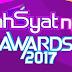 Daftar Pemenang Dahsyatnya Awards 2017