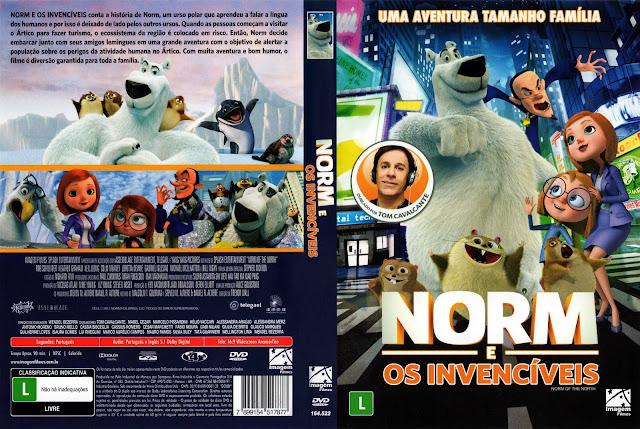 Capa DVD Norm E Os Invencíveis