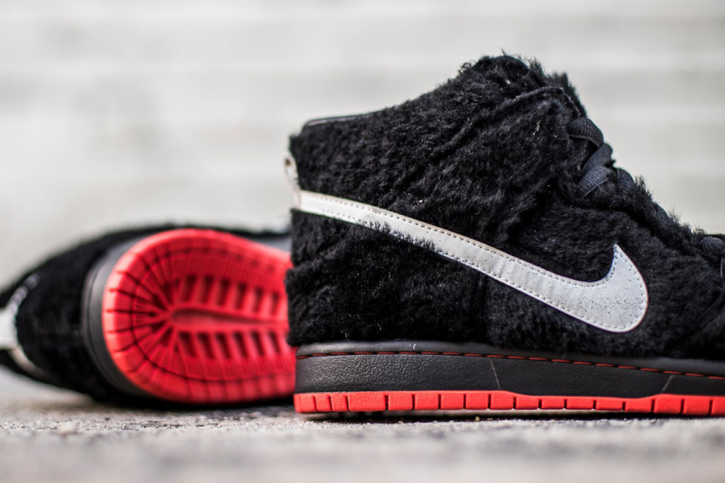 new arrival 9639a 06f14 Take a closer look at Black Sheep Skate Shop Nike SB Dunk High customs  above and head over to The Shoe Surgeon for more from the sneaker  customizer.