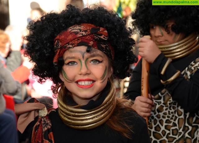 Coso Escolar del carnaval de Los Llanos 2018