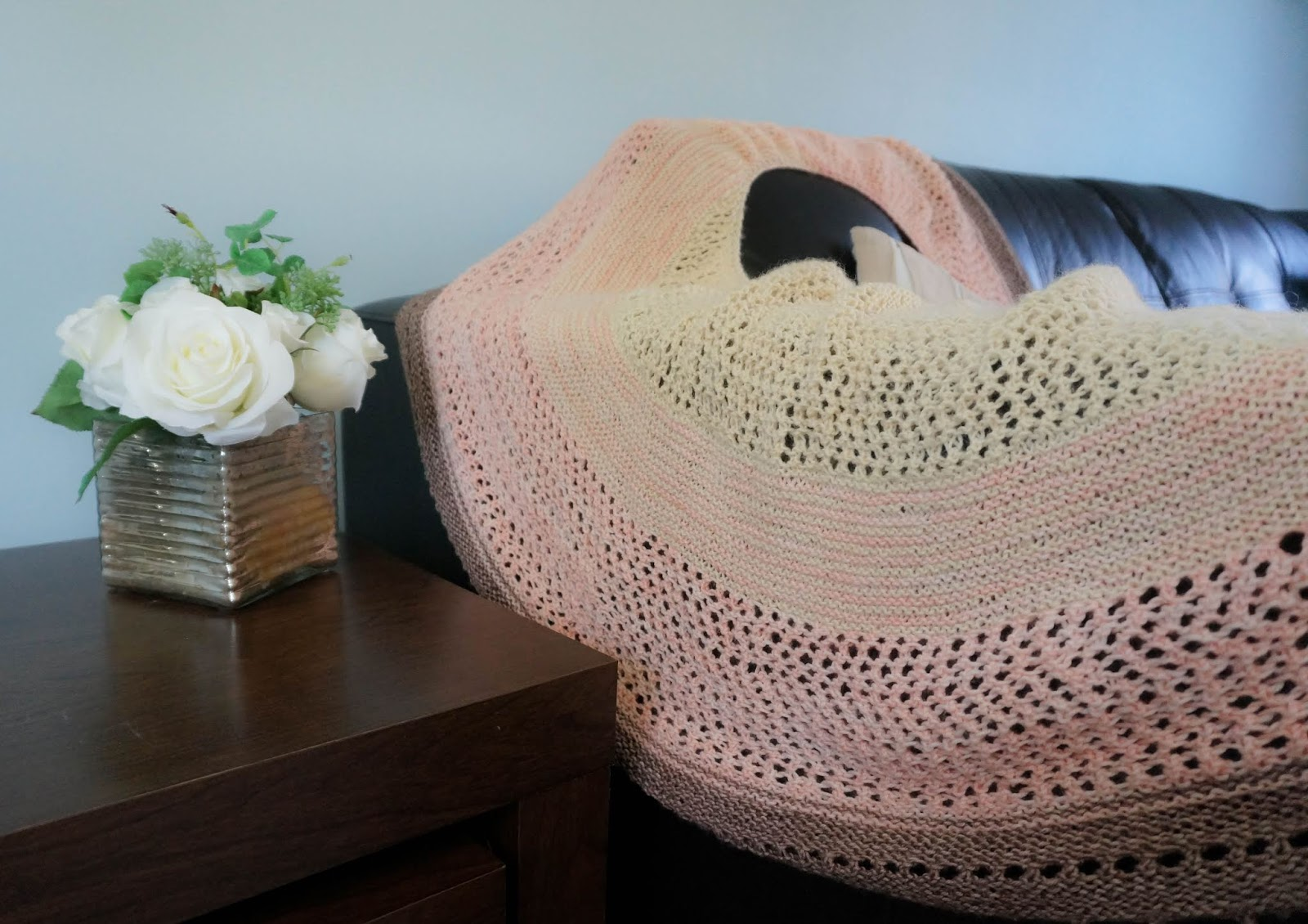 Joji Locatelli Jujuy shawl in Eden Cottage Yarns