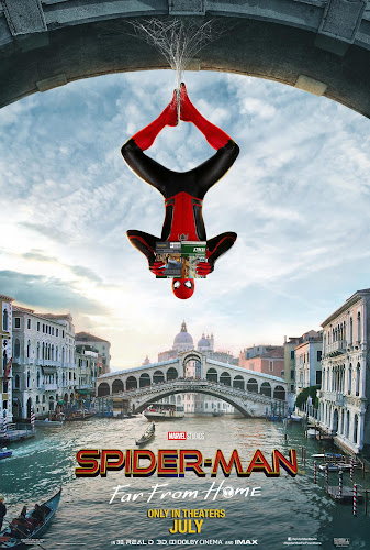 Spider-Man: Far from Home (BRRip 720p Dual Latino / Ingles) (2019)
