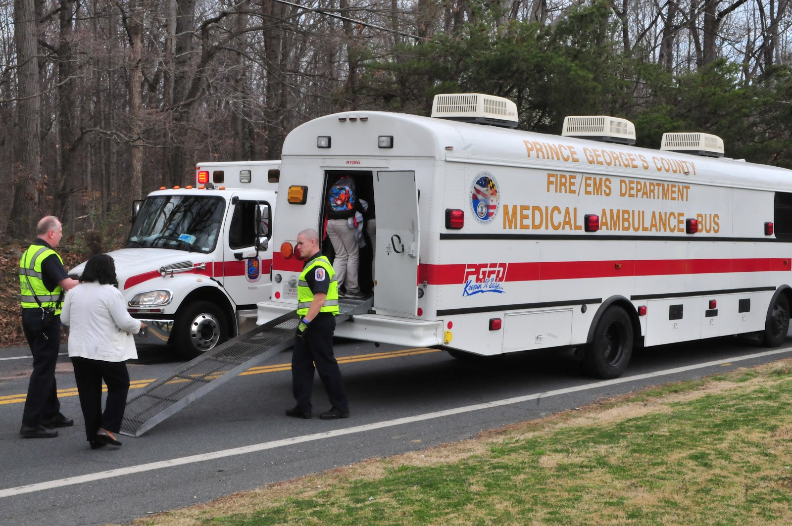 Prince George's County Fire/EMS Department: School Bus ...