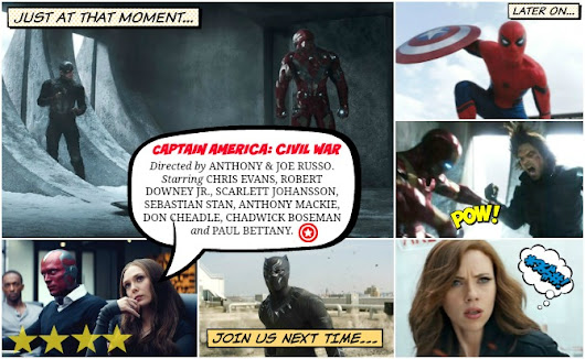 "CAPTAIN AMERICA: CIVIL WAR REVIEW - ""WE USED TO BE FAMILY."" [SPOILERS]"