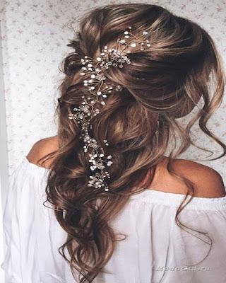 peinado de novia para fiesta tumblr elegante