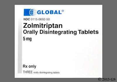 Nursing Implications for ZOLMITRIPTAN (zol-mi-trip′tan