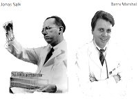 jonas salk and barry marshall