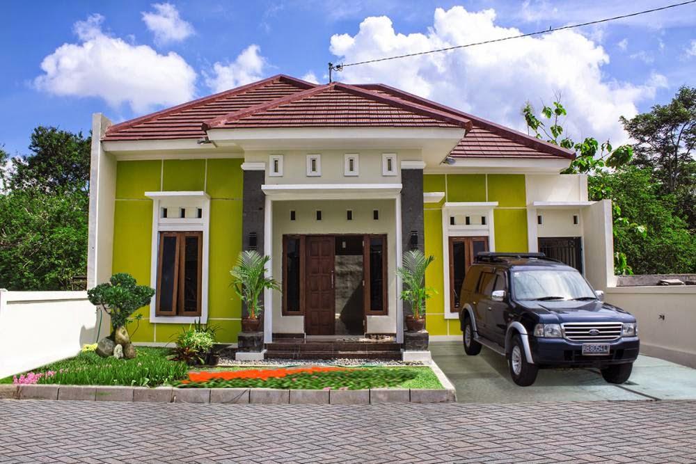 rumah cantik minimalis modern 005